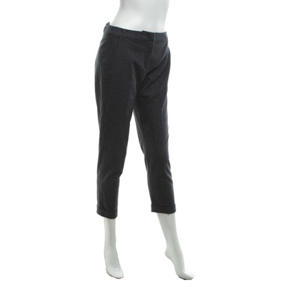 Max & Co trousers with Vichy pattern