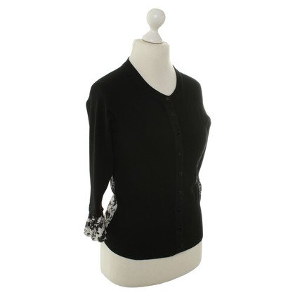 Karen Millen Cardigan in black/white