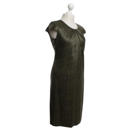 Hugo Boss zijden jurk in groen