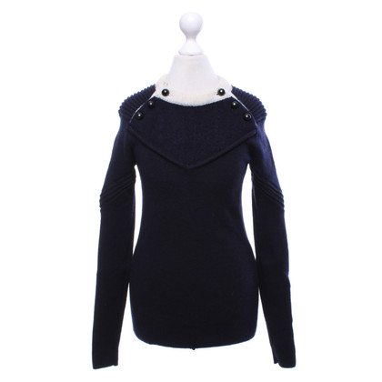 Isabel Marant Sweater in donkerblauw / crème