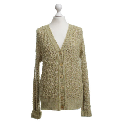 Missoni Chunky knit jacket in verde