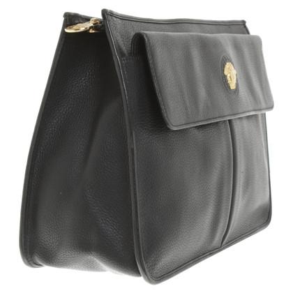 Gianni Versace clutch in black