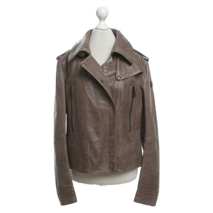 Belstaff Leather jacket in taupe