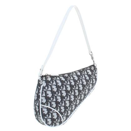 "Christian Dior ""Saddle Bag"" mit Logo-Muster"