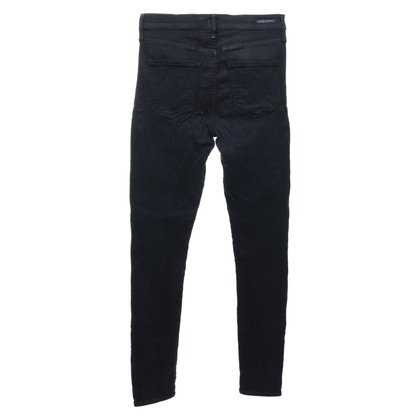 Citizens of Humanity Jeans met hoge taille in donkerblauw