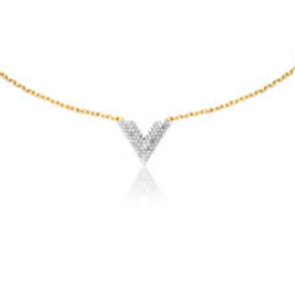 Louis Vuitton Essential necklace with Rhinestone