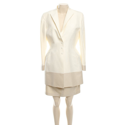 Mugler Costume in beige / cream