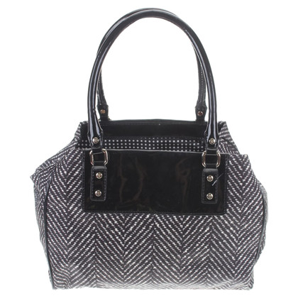 Kate Spade Handbag in black and white