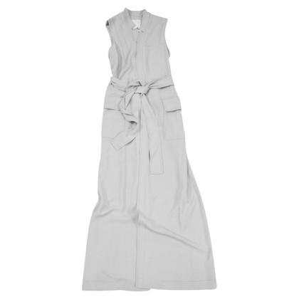 DKNY Long vest in grey