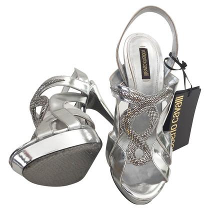 Roberto Cavalli platform Sandals