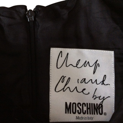 Moschino Cheap and Chic Schwarzes Kleid
