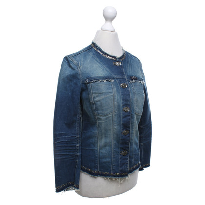7 For All Mankind Denim jacket in used look