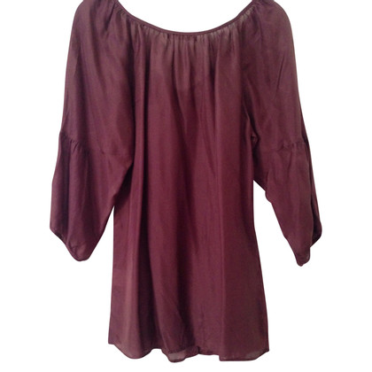 Velvet Top in seta