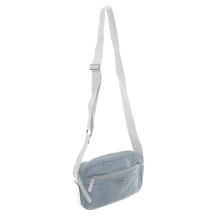 Prada Spalla Bag in blu-grigio