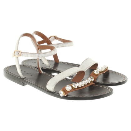 Marni Sandals with jewelery