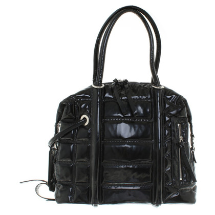 Givenchy Patent leather handbag in black
