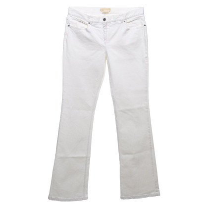 Michael Kors Boot cut jeans in white