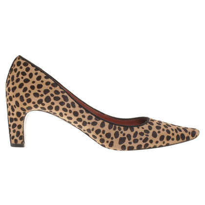 Marc Jacobs pumps met animal print