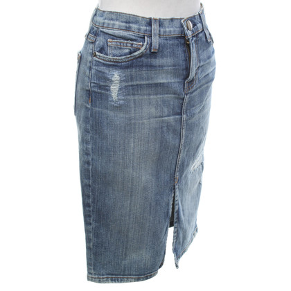 Current Elliott Jeansrock in Blau