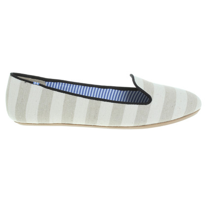 Charles Philip Shanghai Loafers with stripe pattern