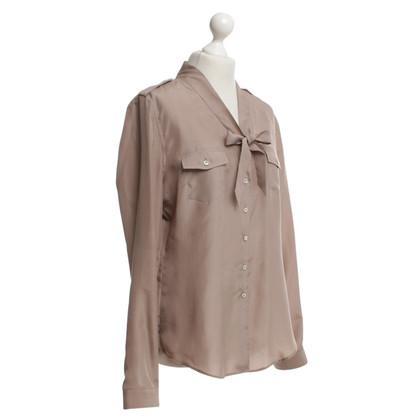 Van Laack Beige silk blouse
