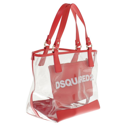 Dsquared2 Beach bag in red