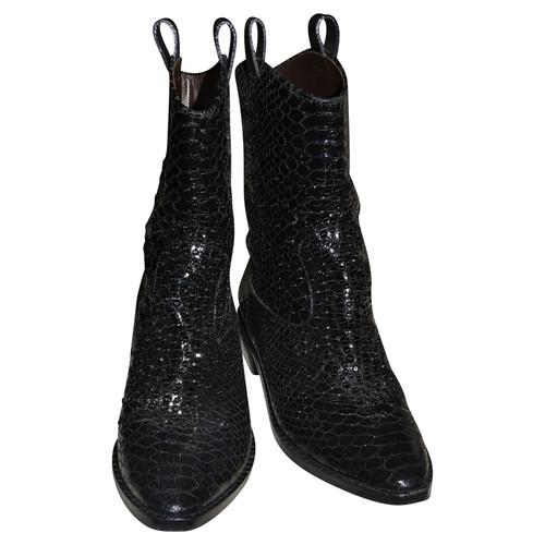 cc248ad971fb8 Giuseppe Zanotti Python boots - Second Hand Giuseppe Zanotti Python ...