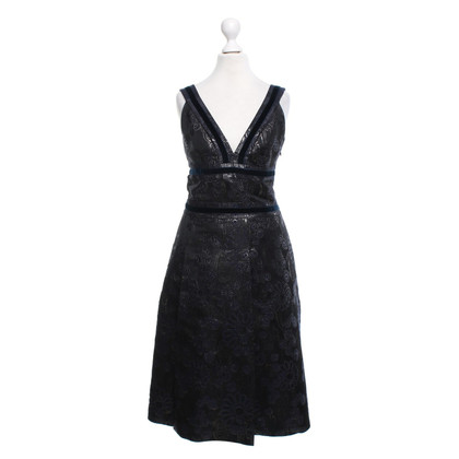 Cacharel Dress with velvet trim