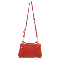 Andere merken Goldenlane - suede tas rood
