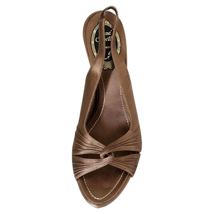 René Caovilla Satin sandal