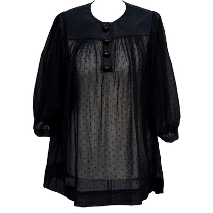 By Malene Birger Tunika in Schwarz