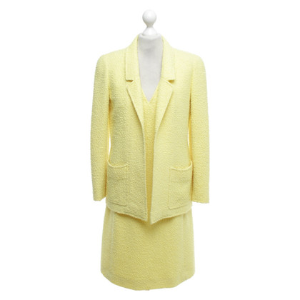 Chanel Costume in giallo