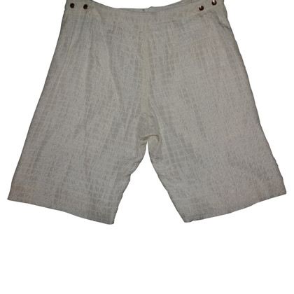 Chloé Silk shorts in white