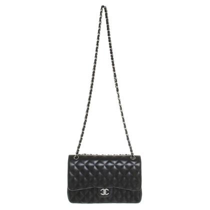 Chanel ''Classic Double Flap Bag'' in Schwarz