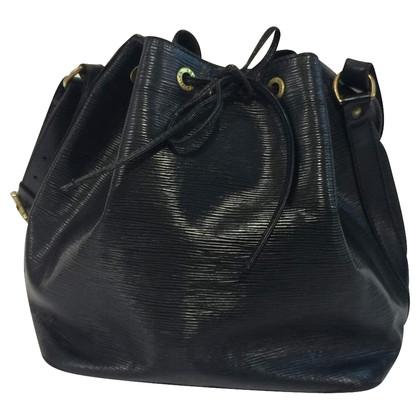 Louis Vuitton Petit Noé EPI in zwart
