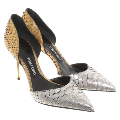 Tom Ford pumps in pelle di rettile