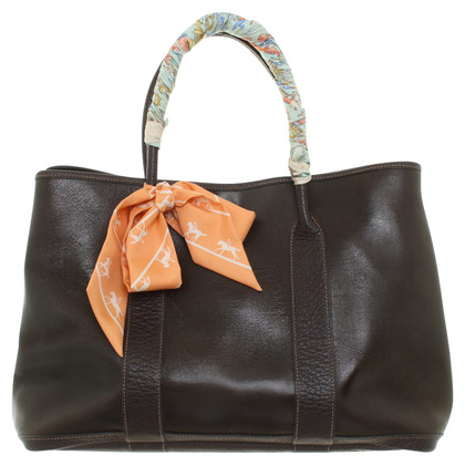 Hermès '' Garden Party '' in Brown