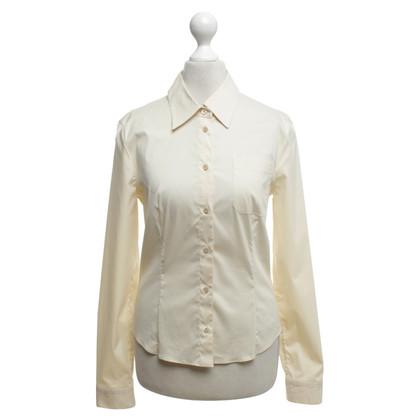 Prada Shirt blouse in cream white