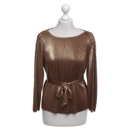 Halston Heritage Top in goud
