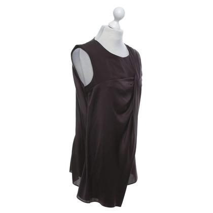Schumacher Bruine blouse met zijde
