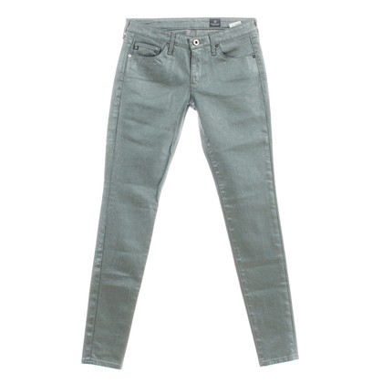 Adriano Goldschmied Jeans met metallic look