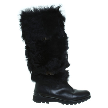 Other Designer Boots with real fur