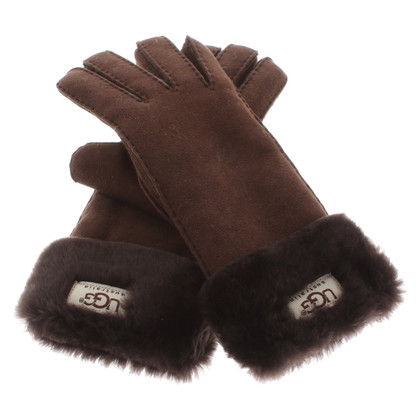 Ugg Gloves with lambskin