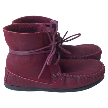 Isabel Marant Stivali di pelle di pecora
