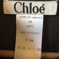 Chloé Bluse in Braun