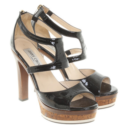 Jimmy Choo Sandals of patent leather