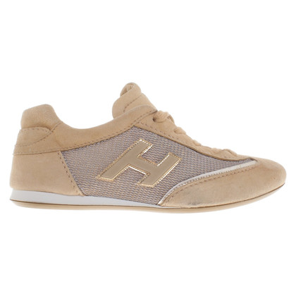 Hogan Sneakers en beige