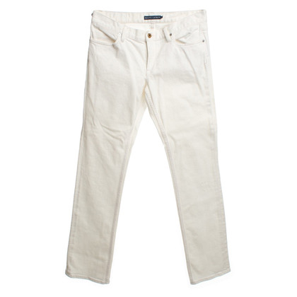 Ralph Lauren Jeans cream white