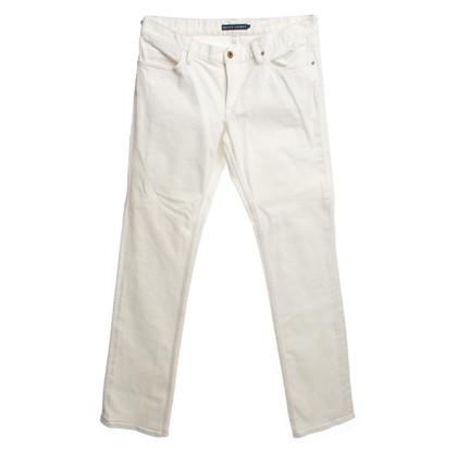 Ralph Lauren Jeans crème wit