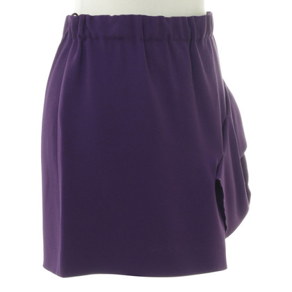 Miu Miu skirt purple
